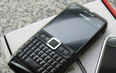 Nokia E71'in yeni versiyonu geliyor!